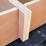 Bricolage : emboitement planches pour structure démontable aménagement coffre break Dacia Logan MCV pour dormir dedans - Road Trip