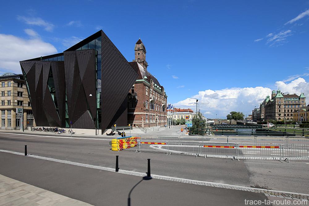Bâtiment World Maritime University sur Högskola à Malmö, Suède