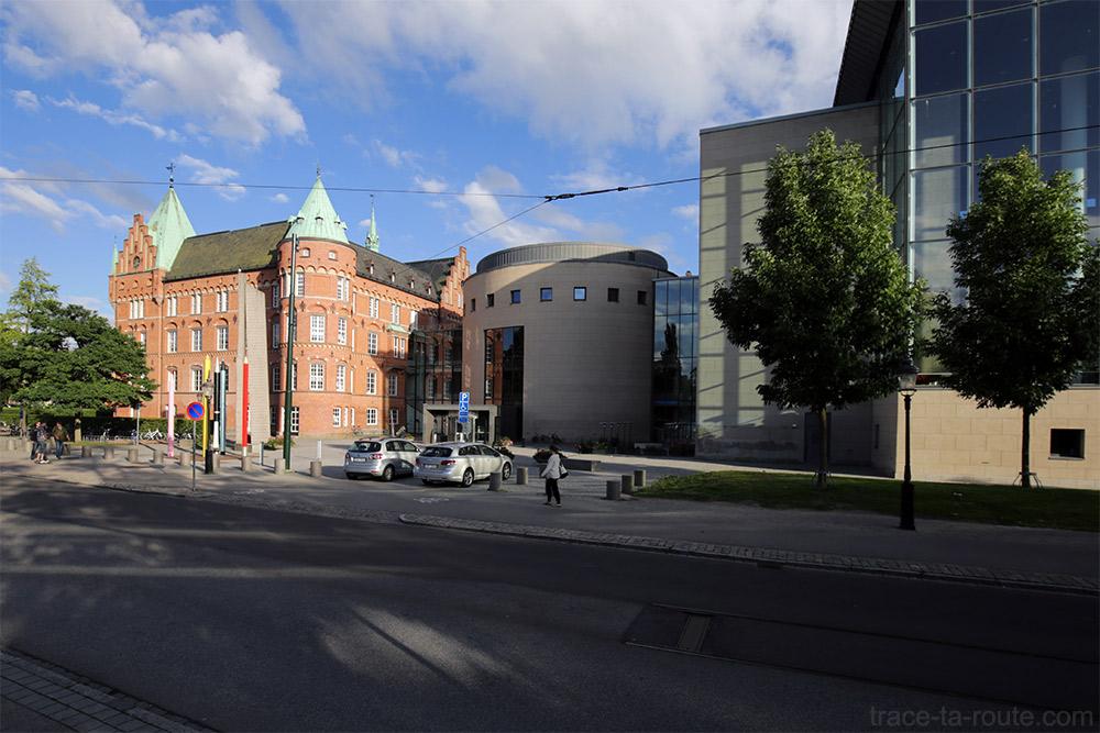 Stadsbiblioteket Bibliothèque de Malmö en Suède