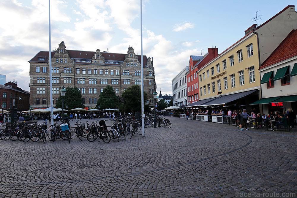 Place Lilla Torg de Malmö en Suède