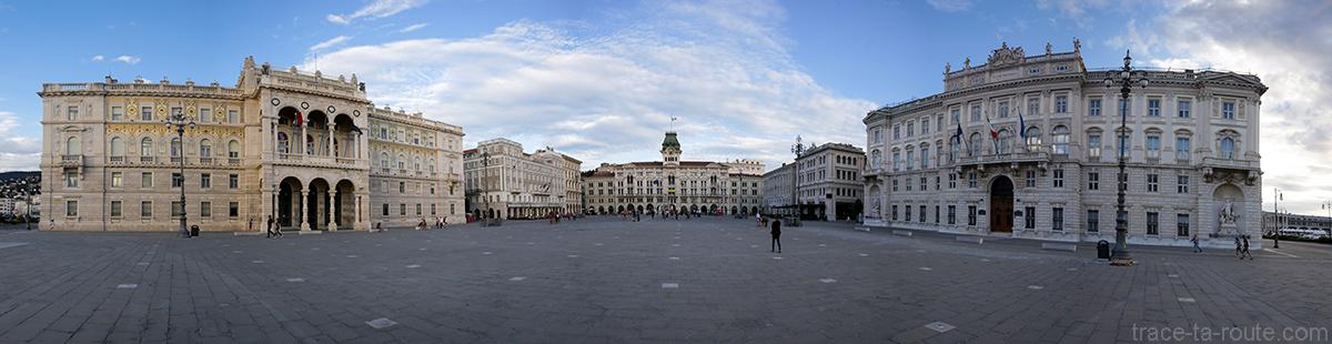 Piazza Unità d'Italia de Trieste
