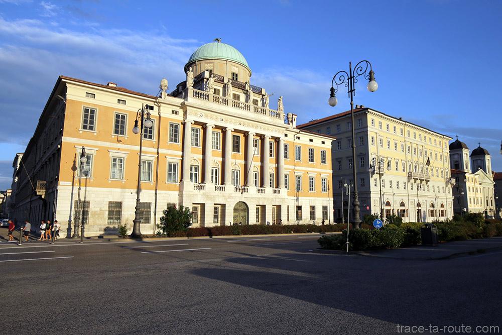 Palazzo Carciotti de Trieste, Italie