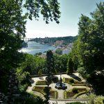 vue sur la ville depuis les jardin de las virtudes à Porto
