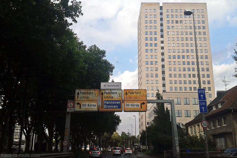 Itinéraire Road Trip Dortmund Routes Allemagne