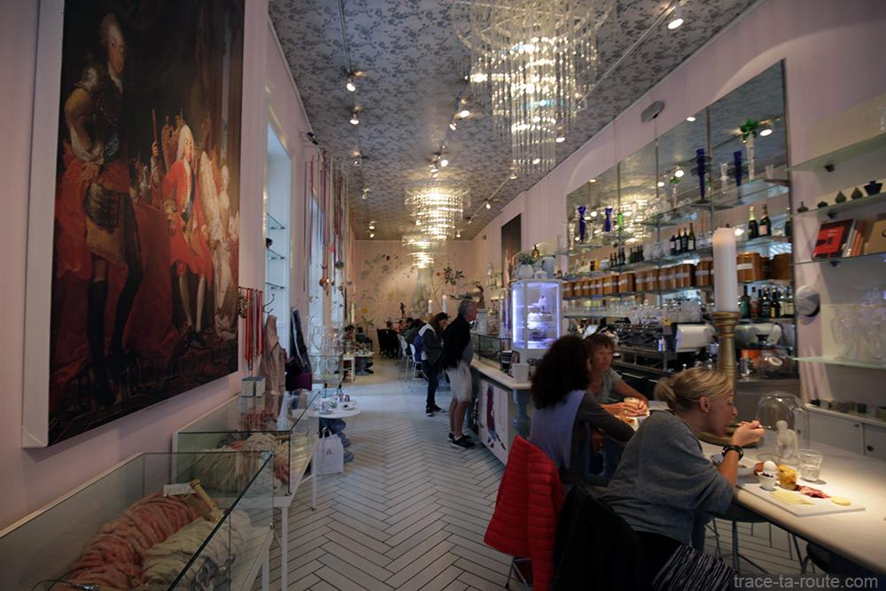Royal Sushi Cafe à Copenhague, Danemark