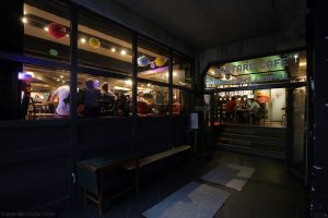 Entrée du Bastard Cafe à Huset KBH de Copenhague, Danemark