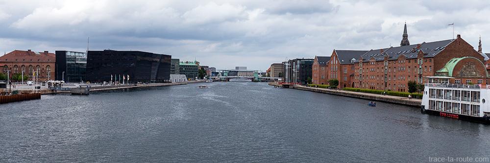 Syhavnen, Den Sorte Diamant et Christianshavn à Copenhague, Danemark