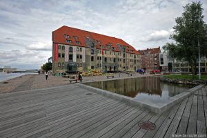 Bâtiment Danish Architecture Centre dans le quartier Christiana à Copenhague, Danemark - Christianshavn Copenhagen