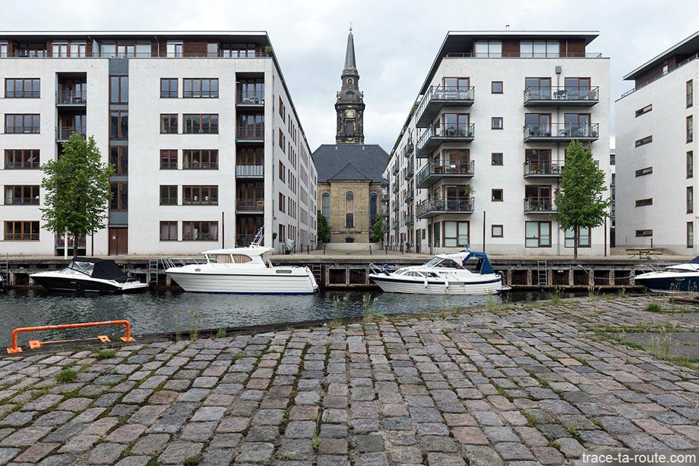 Église Christians kirke à Christianshavn à Copenhague, Danemark