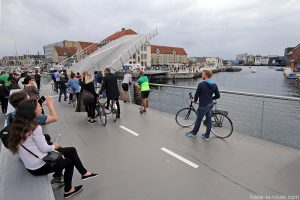Pont Levis sur le canal dans le quartier Christiana - Christianshavn, Copenhagen Danemark