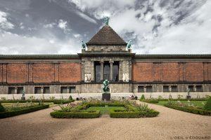 Musée NY Carslberg Glyptotek à Copenhague, Danemark