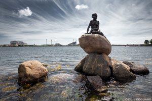Statue de la Petite Sirène à Copenhague, Danemark © L'Oeil d'Édouard