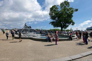 Kastellet : Fontaine Gefionspringvandet à Copenhague, Danemark