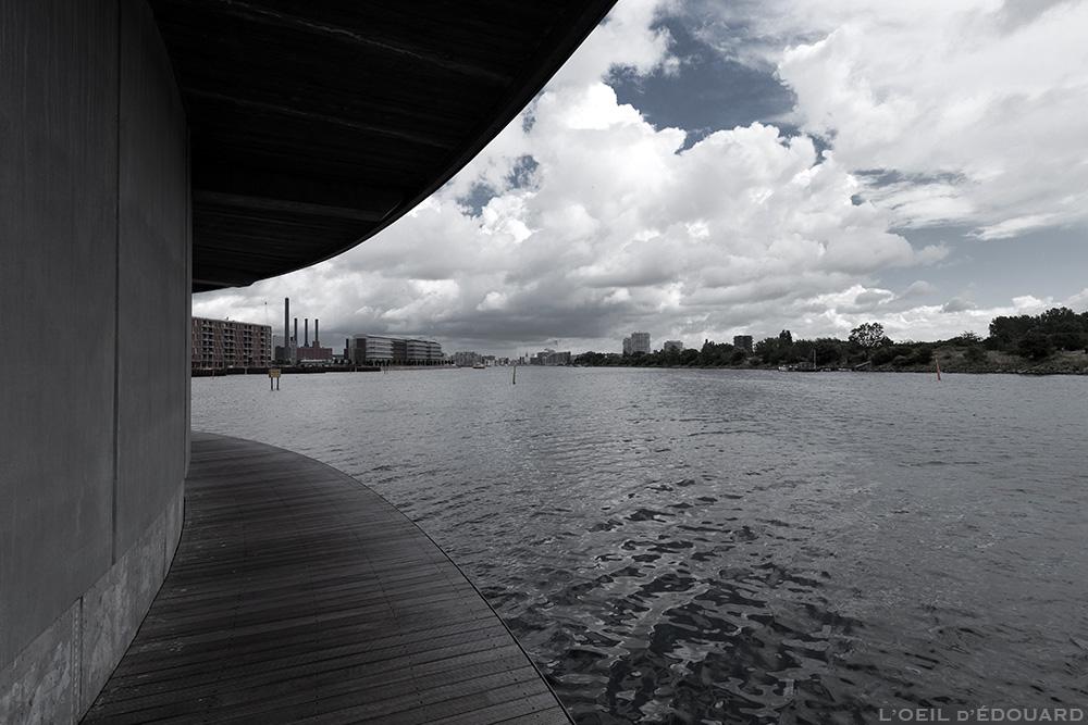 Rivière Syhavnen à Sluseholmen à Copenhague, Danemark