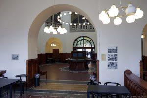Det Kongelige Bibliotek, architecture intérieur historique de la Bibliothèque royale de Copenhague, Danemark (Royal Library Copenhagen)