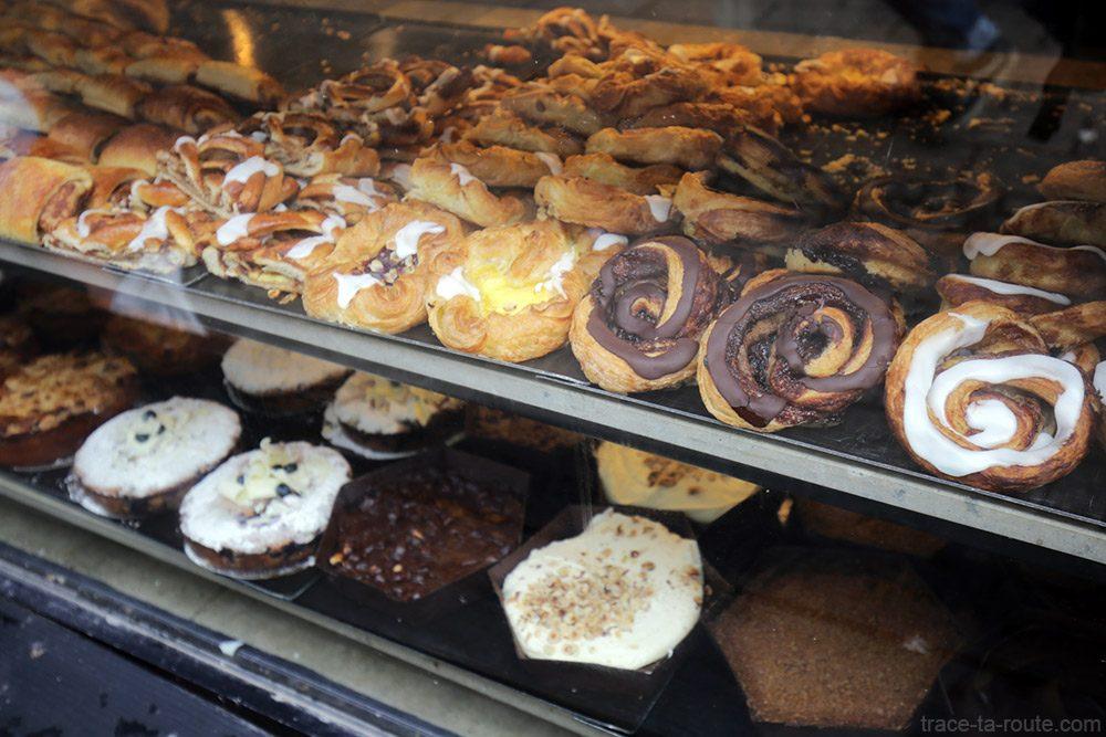 Patisseries danoises à Copenhague