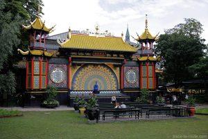 Théâtre chinois aux Jardins de Tivoli Gardens - Copenhague, Danemark