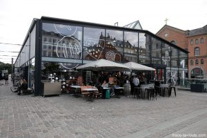 Halles du marché Torvehallerne à Copenhague, Danemark