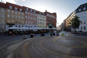 Place Kultorvet à Copenhague, Danemark
