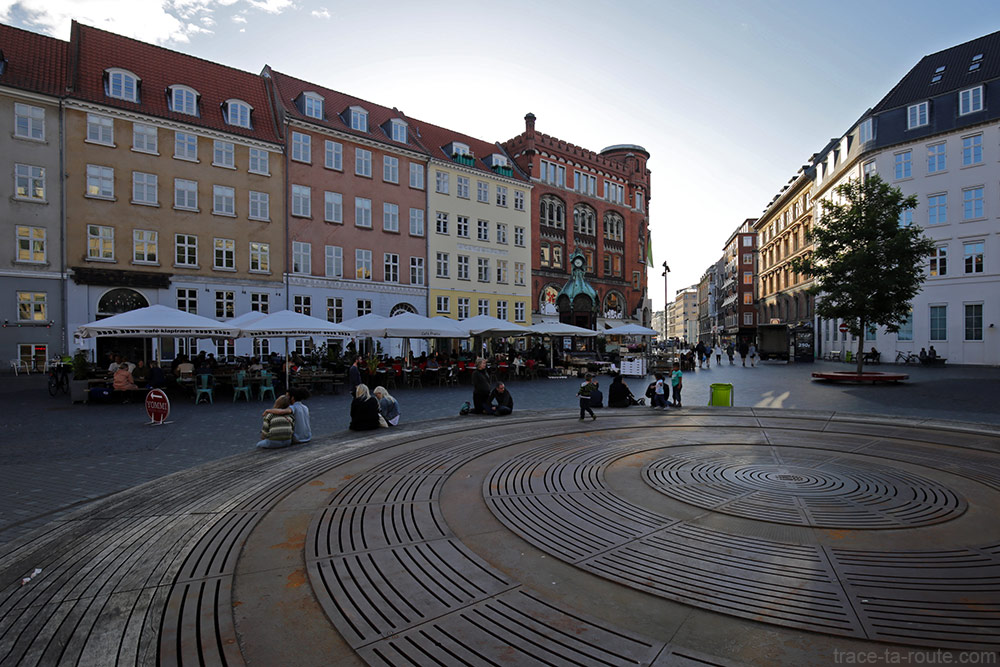 Place Kultorvet à Copenhague, Danemark