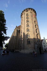 Tour panoramique Rundetarn à Copenhague, Danemark