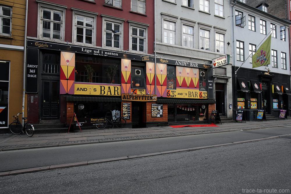 Andy's Bar à Copenhague, Danemark