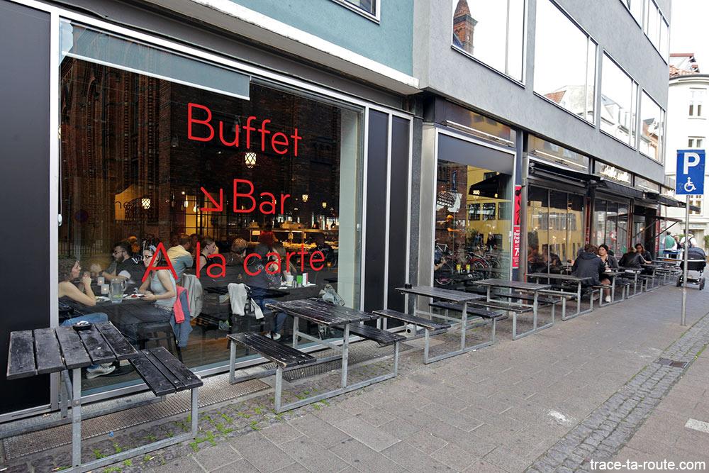 Restaurant Café Dalle Valle à Copenhague, Danemark