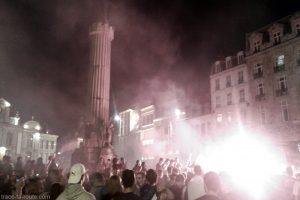 Euro 2016 Football - Demi-finale France Allemagne Fête Victoire Grand-Place de Lille