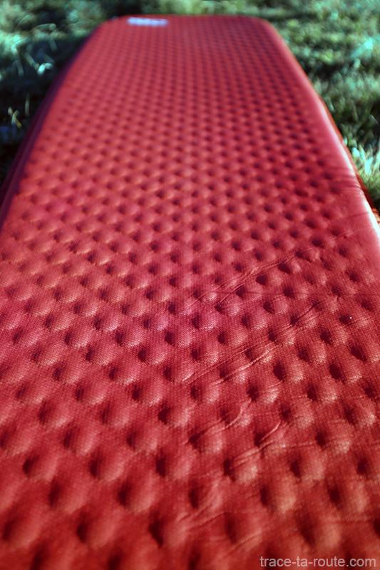 Texture polyester surface Matelas autogonflant ProLite Plus Therm-a-Rest