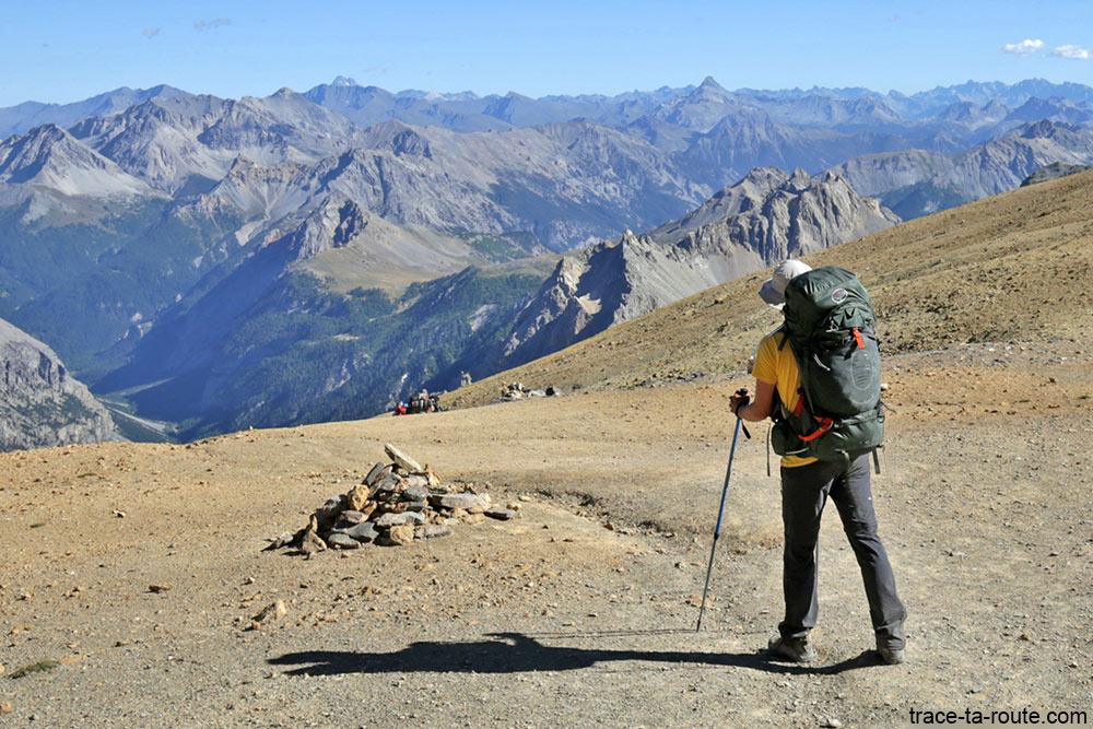 Trek tour du Mont Thabor avec le sac à dos Osprey Atmos AG 65