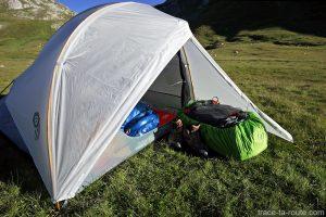 Tente Ghost 2 UL Mountain Hardwear - espace de l'abside