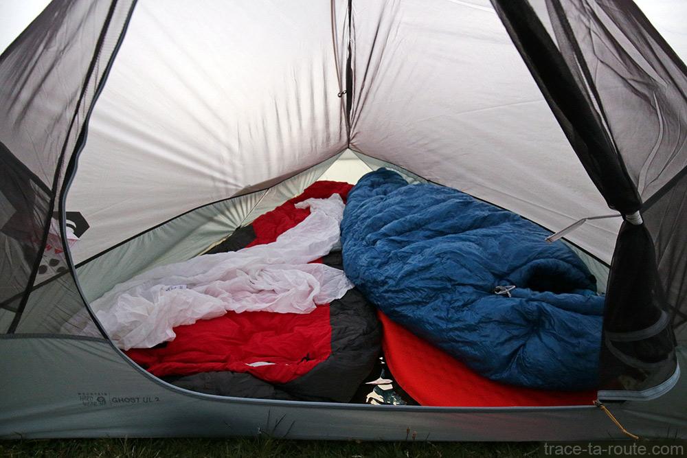 Tente Ghost 2 UL Mountain Hardwear - Espace intérieur