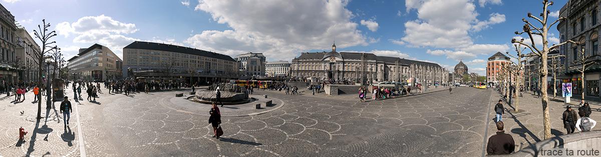 Place Saint-Lambert de Liège et Palais des Princes-Évêques