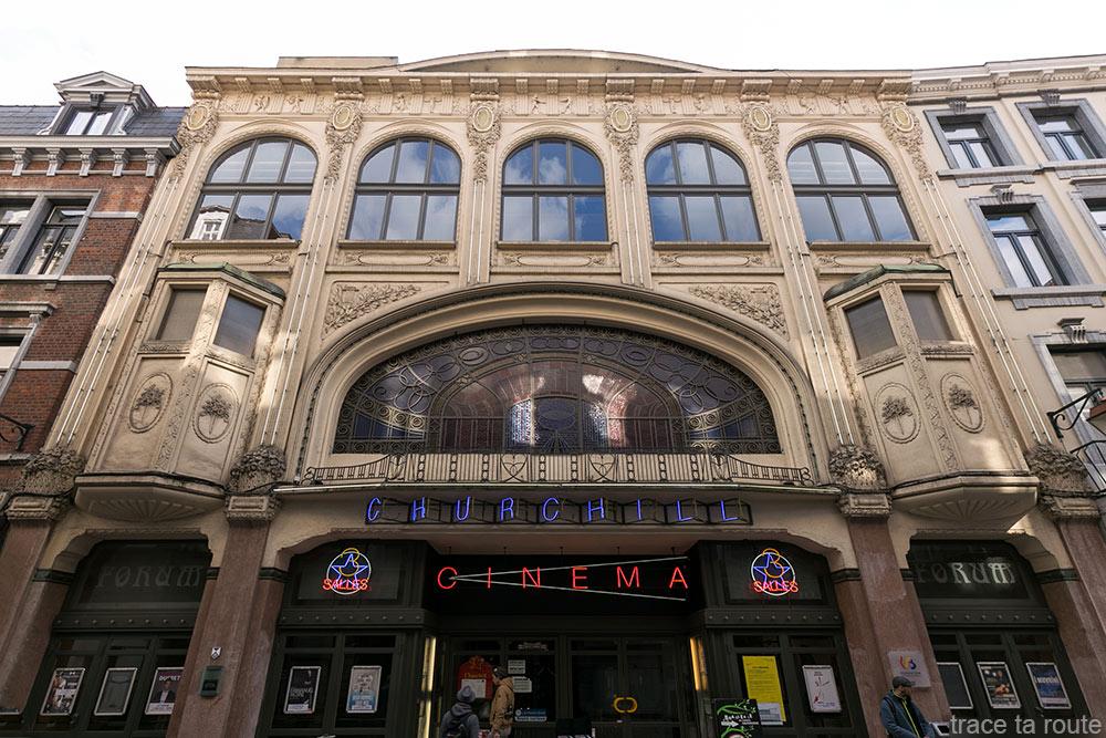 Cinéma Churchill Les Grignoux à Liège