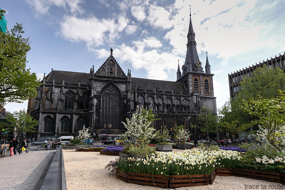 Cathédrale Saint-Paul de Liège, place de la Cathédrale
