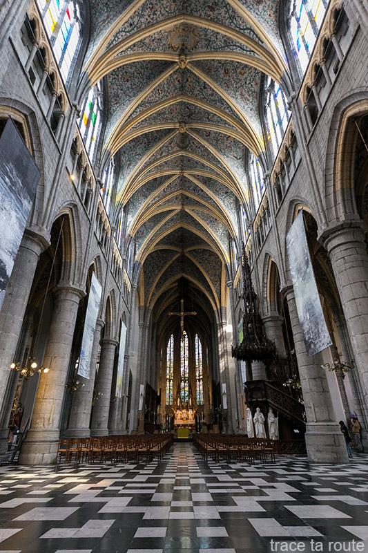 Nef de la Cathédrale Saint-Paul de Liège, intérieur