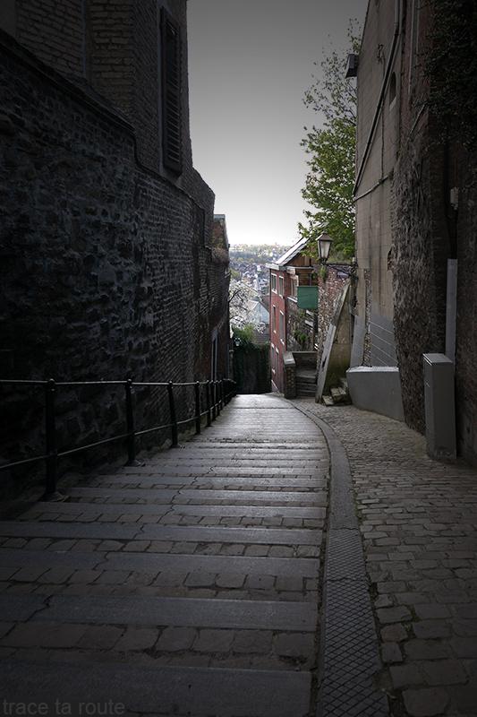 Rue pavée Au Pèrî, Liège