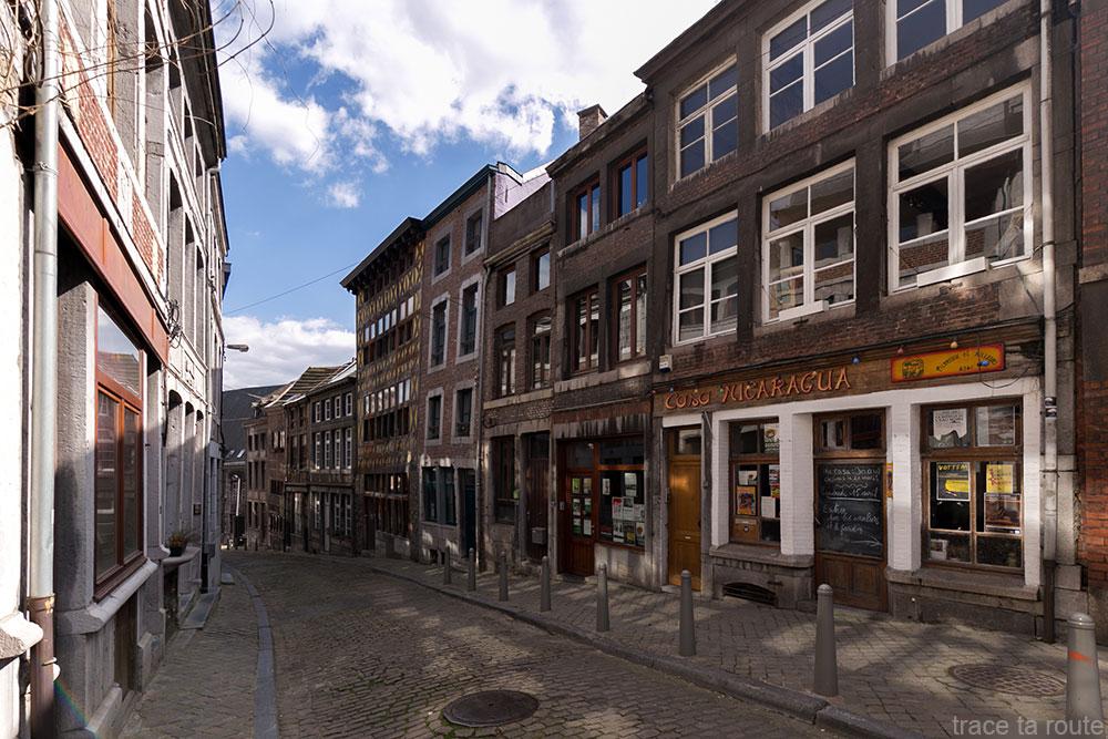 Rue pierreuse, Liège