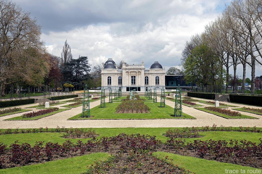 Jardin de la Boverie dans le Parc de la Boverie, Liège