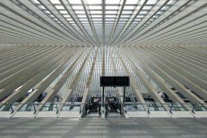 Architecture Gare des Guillemins Liège - Santiago Calatrava