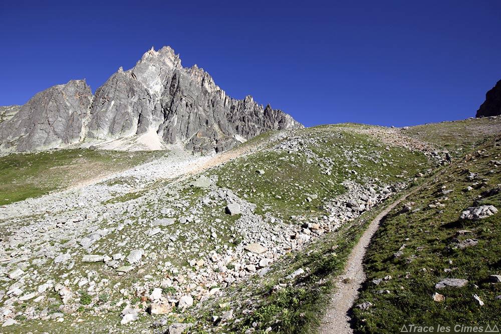 Aiguille Noire au Col de la Plagnette - Tour du Mont Thabor