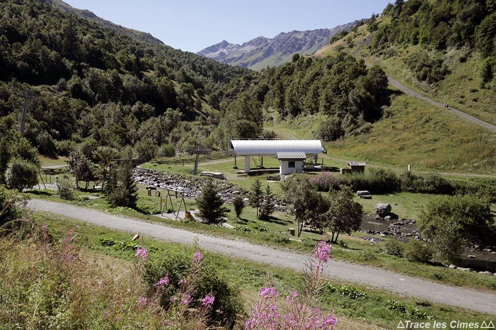 Valmeinier 1800 Télésiège Station de ski Les Déserts