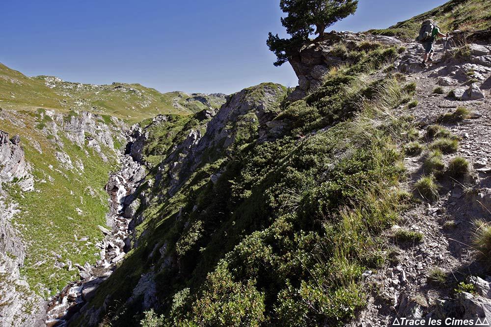 Sentier Tour du Mont Thabor
