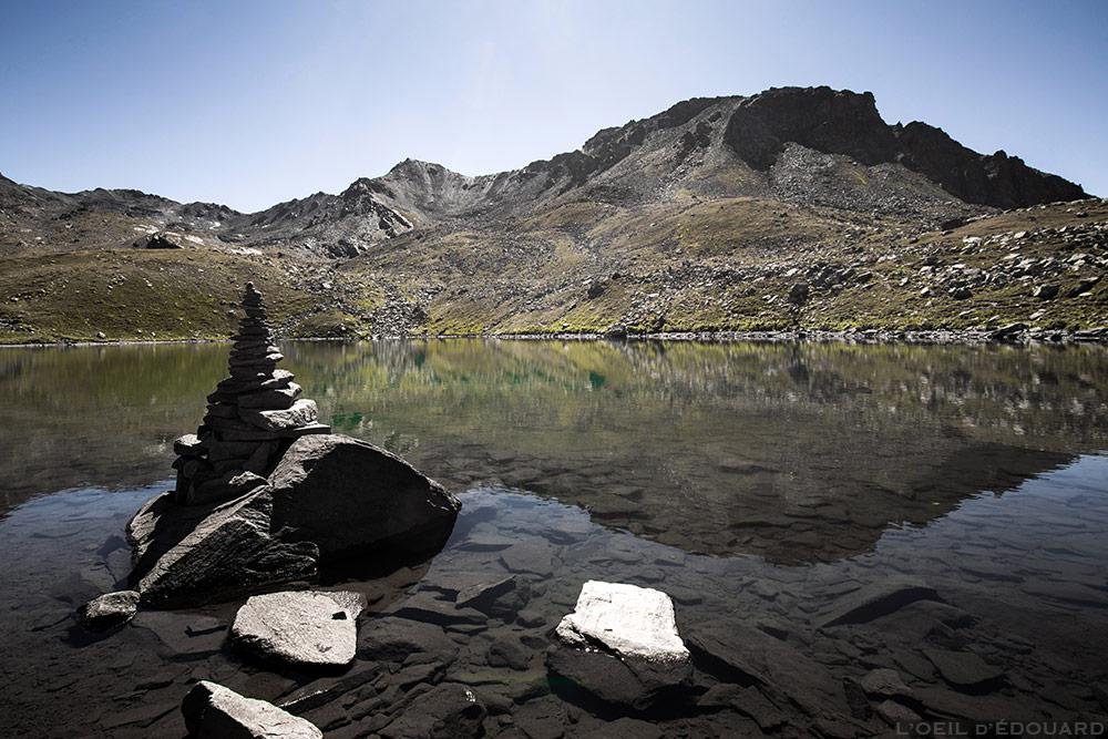 Lac Rond, Crête des Muandes et Rocher de la Grande Tempête, Tour du Mont Thabor © L'Oeil d'Édouard