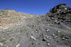 Montée au Col des Muandes - Tour du Mont Thabor