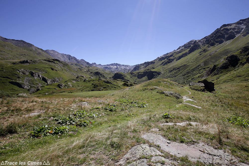Sentier Tour du Mont Thabor - Ruines Chalet Les Arendiers