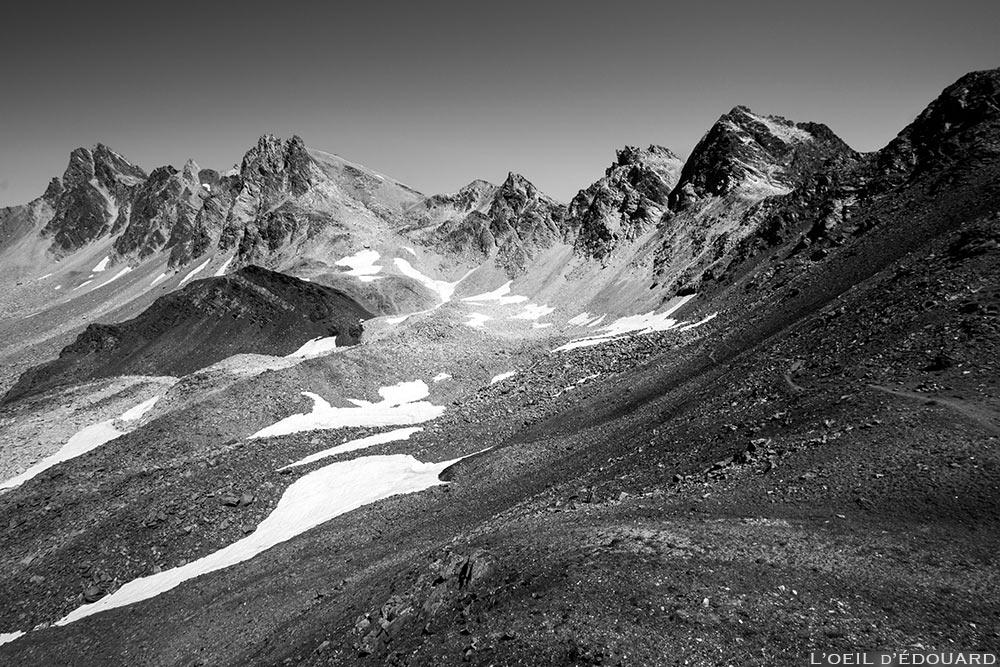 Pic du Thabor, Mont Thabor et roc de Valmeinier - Tour du Mont Thabor © L'Oeil d'Édouard