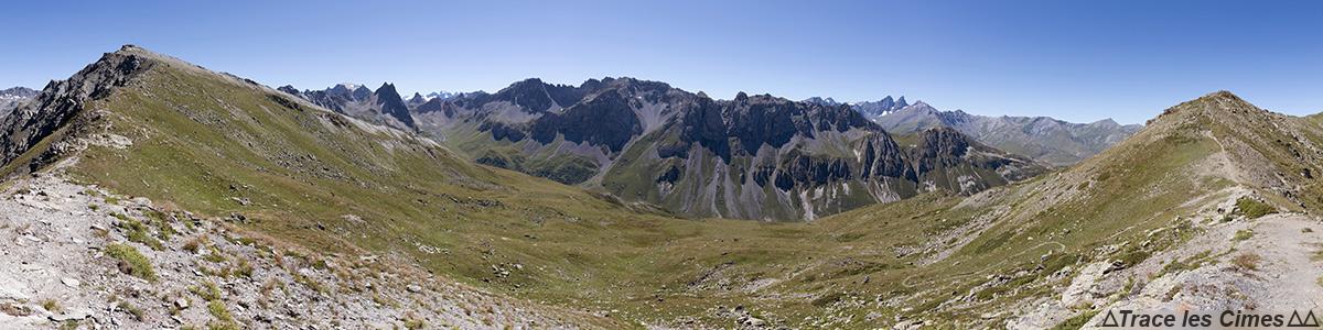 Tour du Mont Thabor - Combe de l'Aiguille Noire depuis le Pas des Griffes