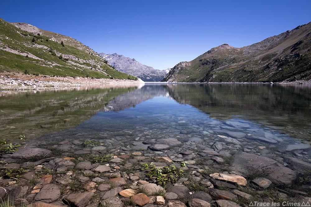 Le Lac de Bissorte en Maurienne sur le trek du Tour du Mont Thabor