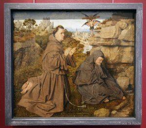 Saint-François recevant les Stigmates (1428-1432) Jan Van Eyck - Galleria Sabauda Palazzo Reale Turin